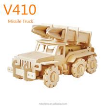 Robotime 3D Puzzle R/C Car Wooden Toy with CE