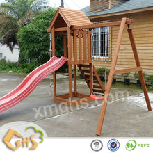 Outdoor Swing and Slide