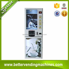 Standard and Self-cleaning Sugar coffee vending machine