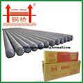 Ms varillas de soldadura aws a 5.1 e6013 suave electrodos de soldadura de acero fabricantes
