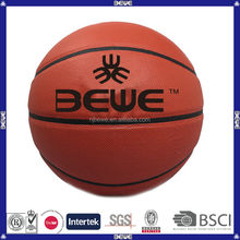 made in china hot selling various sizes colorful customized top quality PU basketball