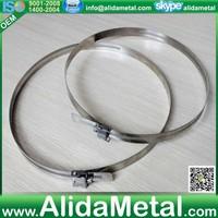 American 8 inch high pressure hose clamps