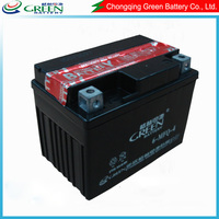 12v Dry charged rechargeable lead acid battery ()