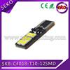 12v t10 w5w led canbus q5 led license plate lamp