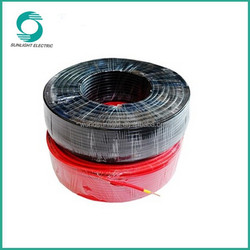 Excellent resistance to abrasion solar panel cable, High current carrying capacity solar heat cable