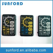OBD II speed monitor hud head up display car