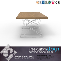 Modern design dining room talbe european style dining table, rectangle dining table