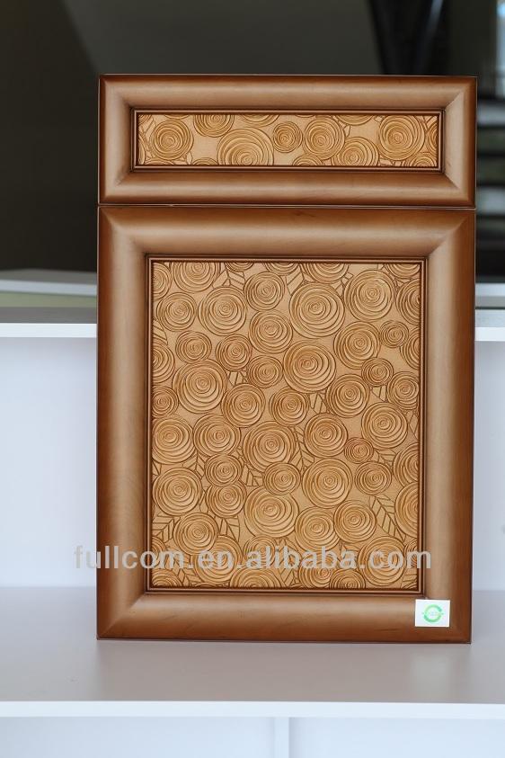 Modele De Cuisine En Bois Massif : Le mod?le de luxe en relief en bois massif porte d'armoire de cuisine