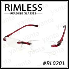 [Yanta] 2015 HOT SALE High quality - TR 90 - Rimless Reading Eyewear Glasses Optical Frame