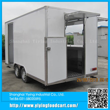 YY-FS420 2015 hot selling mobile trailer new style electric fast food car