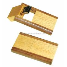 Cheap price environmental wooden swivel usb pen drive , wood usb swivel pen drive flash drive memory stick (PY-U-451)