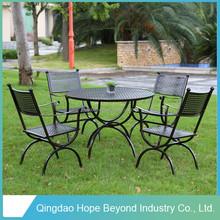 2015 HOT Selling Wrought Iron garden ridge outdoor furniture