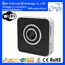 Smart wearable portable wireless wifi 2p2 wireless 2mp ip camera