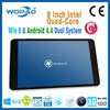 mini tablet pc 8 inch intel quad-core with SIM card slot with camera dual system