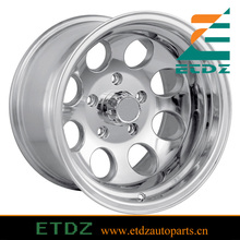 15x8 5x4.5 5x114.3 Polished Aluminum Alloy Wheels Rims For Jeep Wrangler TJ YJ