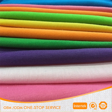 Manufacture supply 32s 180gsm knit 100% cotton jersey fabric for t-shirt
