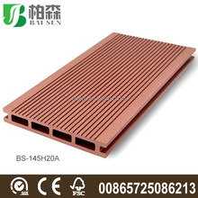 Outdoor wpc decking for landscape use 140*25mm