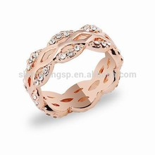 New creation of gold plated ring alibaba.com in russion