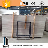white vein marble sandalwood decorative wall building material