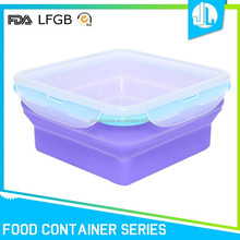 Wholesale China factory silicone food container