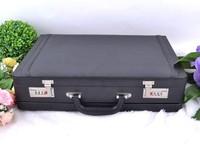 Black Leather Briefcase Roadpro Men Business Office Laptop Brief Case NEW!