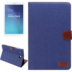 Superior quality Denim Texture Leather case cover for Samsung galaxy tab E 9.6 T560