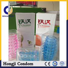 your brand condom green apple and strawberry fuit flavour condom