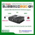 cartão SD dupla pilha gravador de vídeo digital