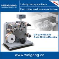 Label die cutting sliter rotary equipment /slitting rewinding machine
