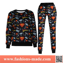 2015 New Style Plain Tracksuit for Women