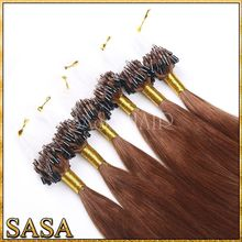 Best quality fish wire hair extension from qingdao human hair factory