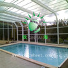 High Quality 10-year Warranty ISO Certification 100%Bayer Marolon polycarbonate sheet solar swimming pool covers with UV