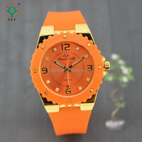 Silicone Band Good Quality 3 Atm Water Resistant Watch With Factory Price