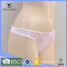 Mixed Color Transparent Panty Thong for Women