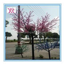 colorful artifical tree for landscape light ,led cherry blossom tree light