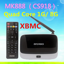 hot selling Amlogic S805 android tv box with XBMC and bluetooth android tv box cs918 1G/8GB