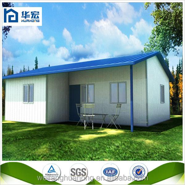 Bonne fonction rapide construire maison de luxe lumière acier maisons