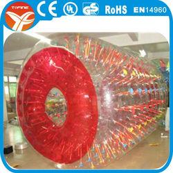 2015 PVC inflatable hamster wheel/ inflatable water wheel on sale