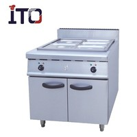 CJ-884 Freestanding Commercial Electric Bain Marie Food Warmer with Cabinet