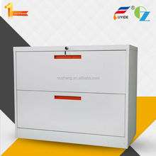 Wholesale office furniture hot sale KD 2 drawer steel lateral office filing cabinets production process