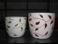 square Garden decorative pot culture ceramic pottery