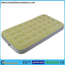 Factory direct sales air beds single flocked 32 coil air beds