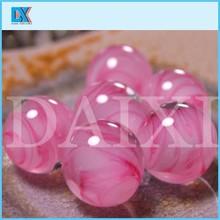 großhandel schöne rosa glasmurmeln