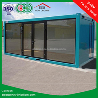 20ft prebuilt folding light steel container villa china prefab modern villa portable container house