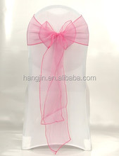 wholesale cheap chair sash,wedding decoration crystal sashes,romantic organza sashes