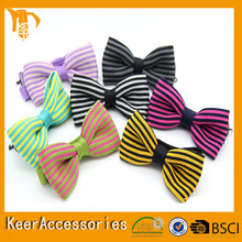 100% silk knitted wholesale large bow ties