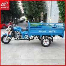 China Tipper Three Wheel Motorcycle Van For Sale/ New Cargo Box Tricycle Tipper