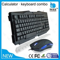 Latest cheap mouse keyboard combo factory direct wired keyboard and mouse combo