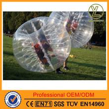 Inflatable human sized soccer bubble/bubble football/loopy ball/bubble football for sale/bumperz bubble football/boblefotball