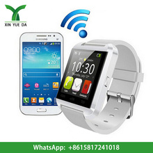 New fitness sports silicone bracelet Bluetooth Smart watch cheap paypal u8 , Android Smart Phone Watch